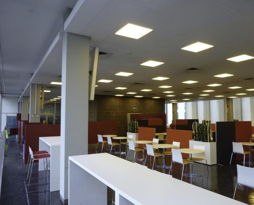Landratsamt Karlsruhe Kantine Essensbereich