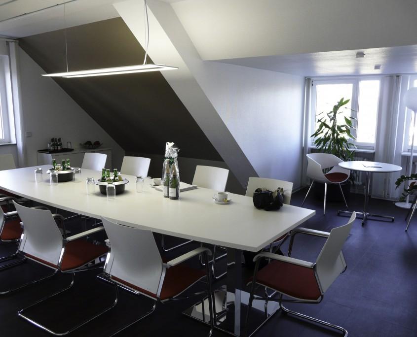 Wohnbau Wörth am Rhein Meeting Raum Einrichtung