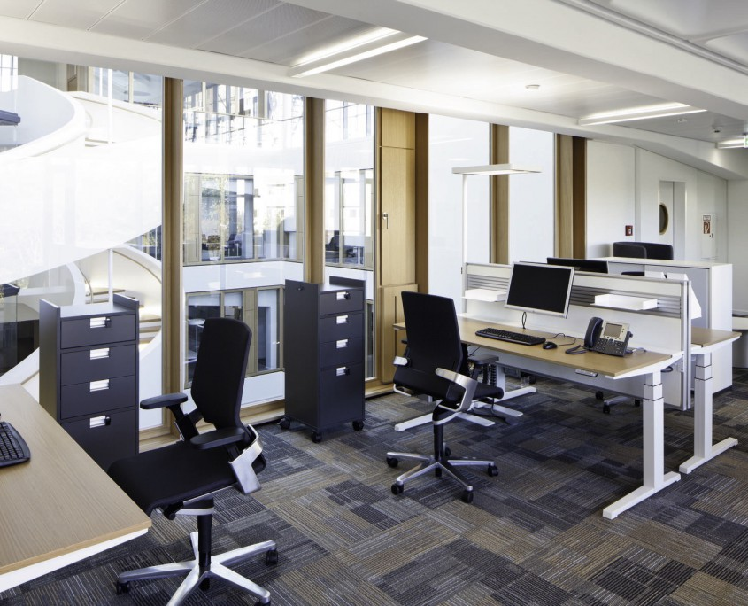 BGV Karlsruhe Büroeinrichtung Ansicht 1