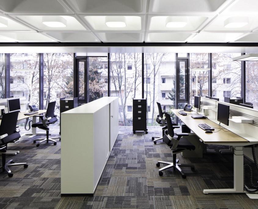 BGV Gebäude Raumteilung