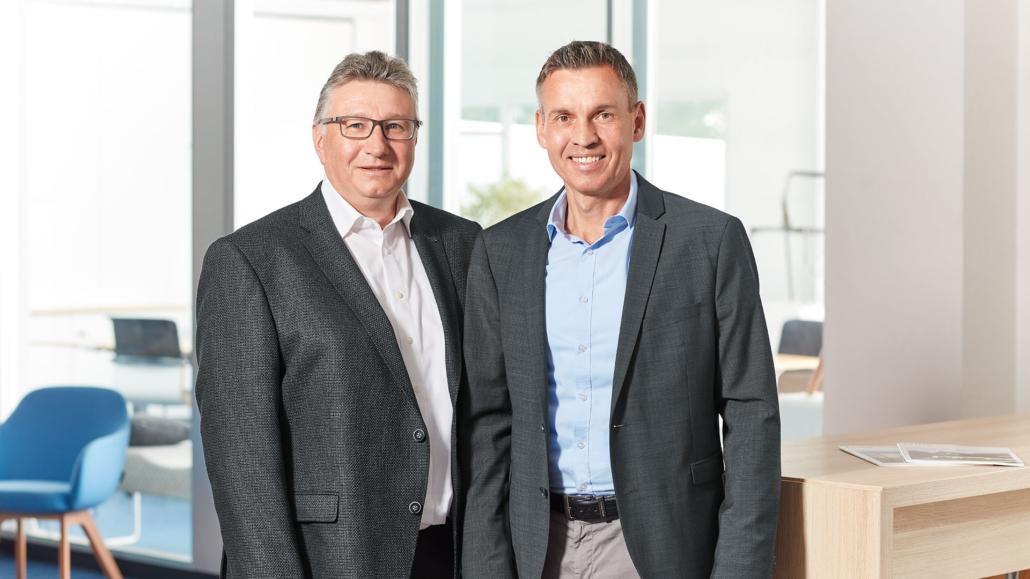 Die Unternehmensnachfolge mit Martin Gebhardt (links) und Eric Schäfer (rechts)